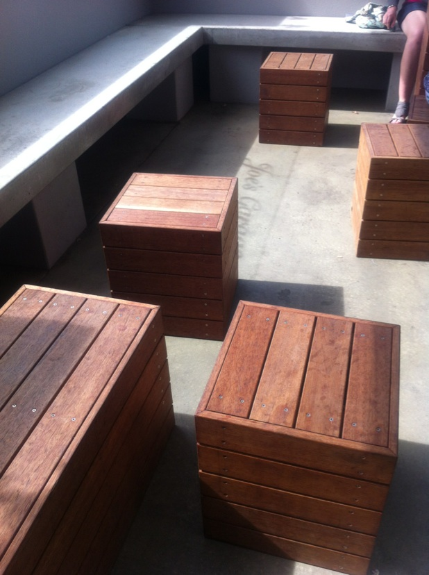 Cube seats - Garden accessories & supplies - Welcome to
